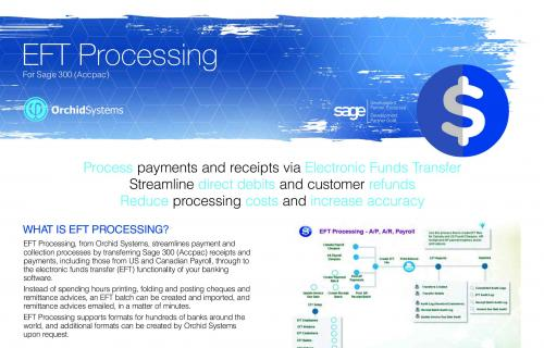 EFT Processing Brochure